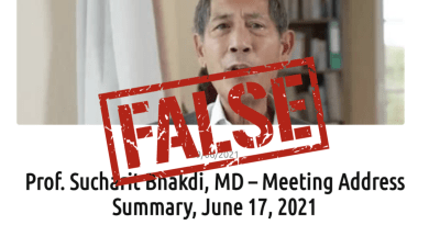 Investigation: A group of doctors spreading misleading claims about COVID-19 vaccines