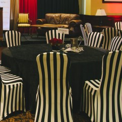 Chair Covers For Event Virginia House Rocking Elegant Black And White Striped Rtty1