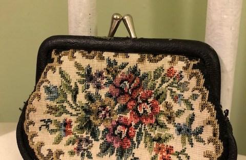 Vintage Floral Coin Purse
