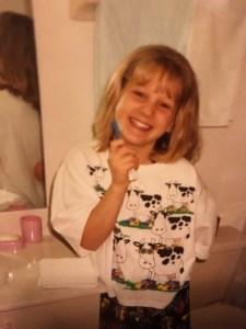 1993 Cow pajamas