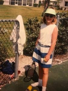 Playing Tennis, Naples Florida 1993