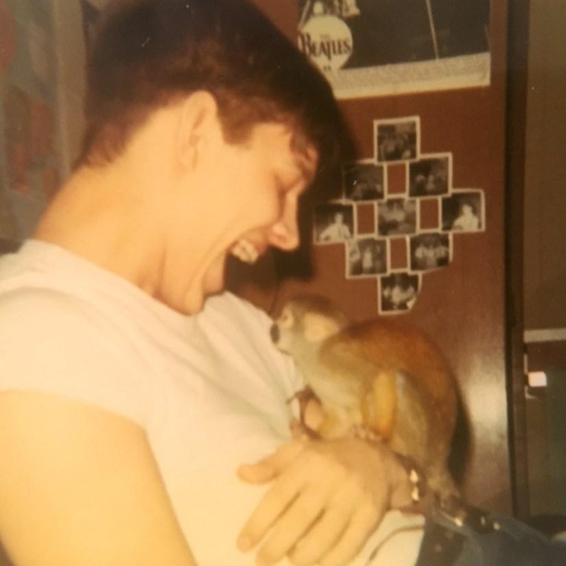 My Dad's monkey JoJo, 1968