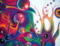 abstract colored pencil art | Annie's Art Blog