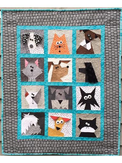 Dog Quilt Patterns : quilt, patterns, Quilt, Patterns, Pattern