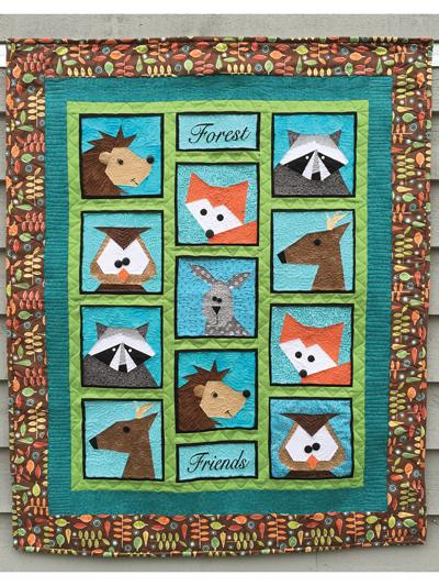 Animal Quilting Patterns | LoveCrafts