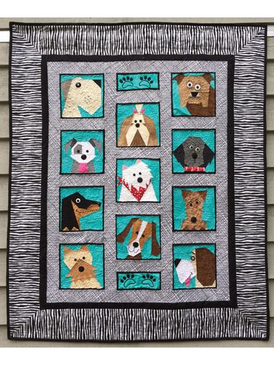 Dog Quilt Patterns : quilt, patterns, Animal, Quilt, Patterns, Pattern