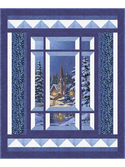 Window Quilt Pattern : window, quilt, pattern, Modern, Window, Silent, Night, Pattern
