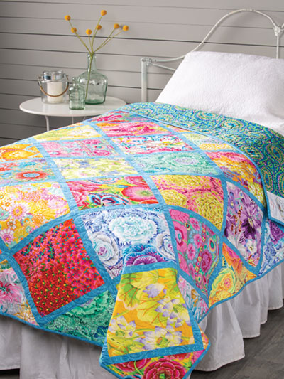 Quilt Patterns For Large Print Fabrics : quilt, patterns, large, print, fabrics, Quilt, Patterns, Square, Pattern