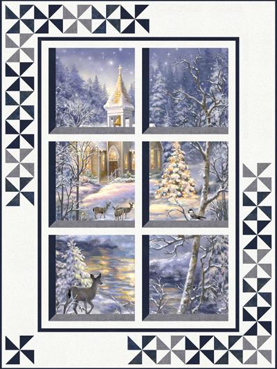 Window Quilt Pattern : window, quilt, pattern, Quilt, Patterns, Winter, Window, Pattern