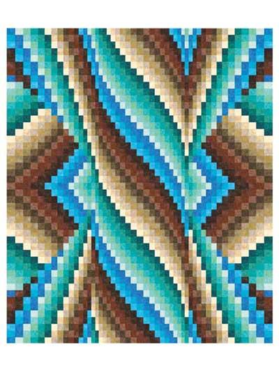 Free Bargello Quilt Patterns : bargello, quilt, patterns, Spiral, Burst, Bargello, Quilt, Pattern