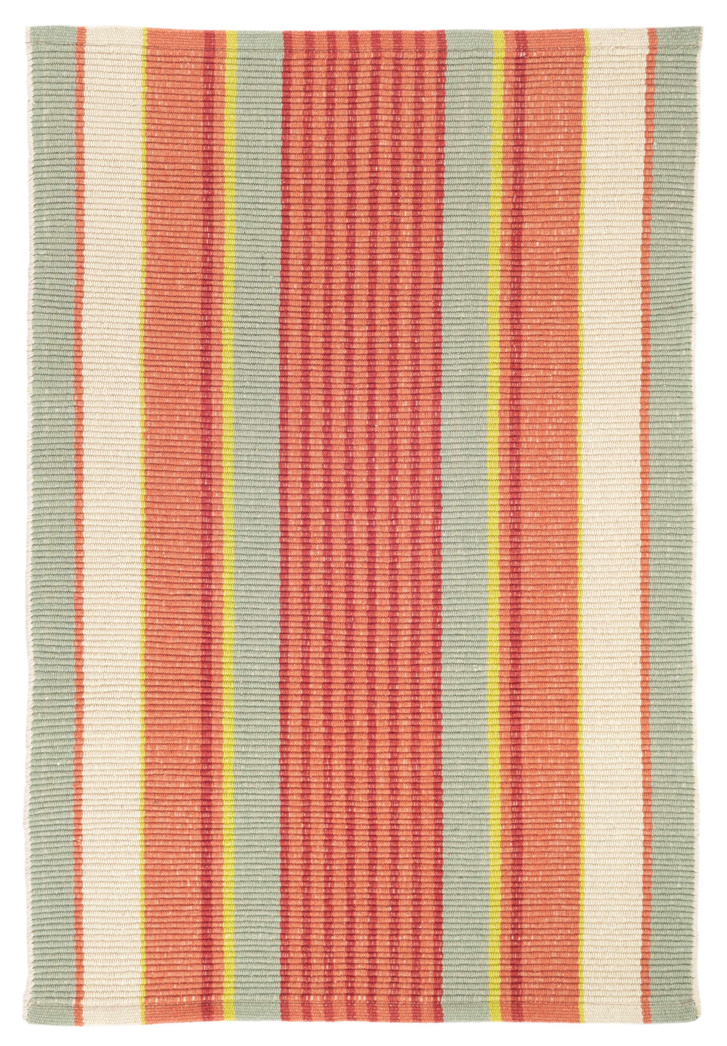 striped kitchen rug flooring types autumn stripe woven cotton dash and albert