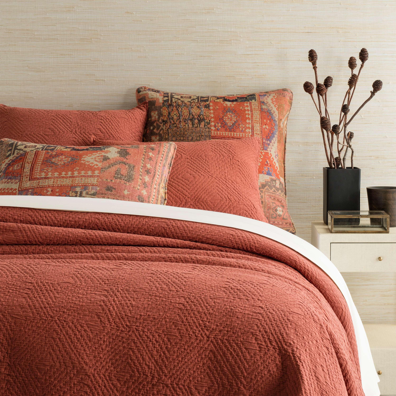 best kitchen rugs long light fixtures kerala spice matelassé coverlet | pine cone hill