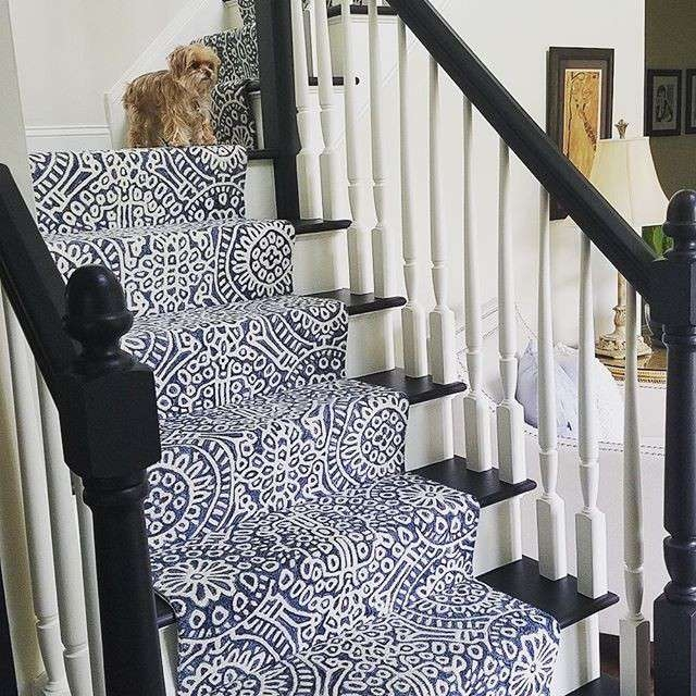 How To Choose A Stair Runner Rug Annie Selke | Solid Color Stair Runners | Modern Stair | Stair Carpet Runner | Washable | Rubber Backed | Self Adhesive