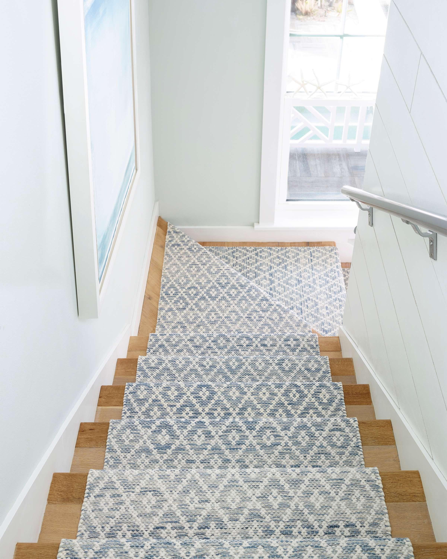 How To Choose A Stair Runner Rug Annie Selke | Outdoor Stair Carpet Runner | Anti Slip Stair | Porch | Flooring | Carpet Workroom | Indoor Outdoor