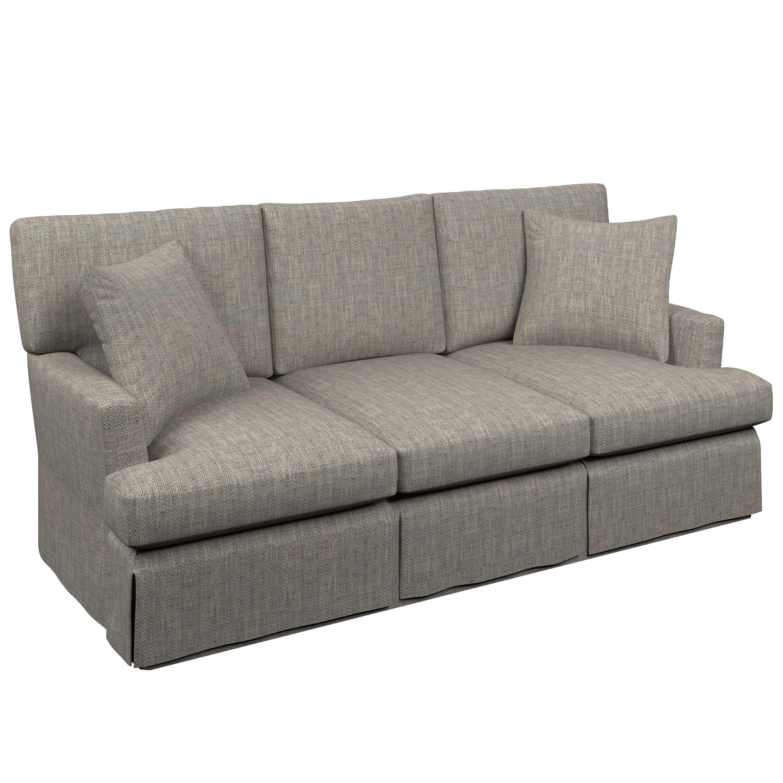 Linen Slipcovered Sofa French