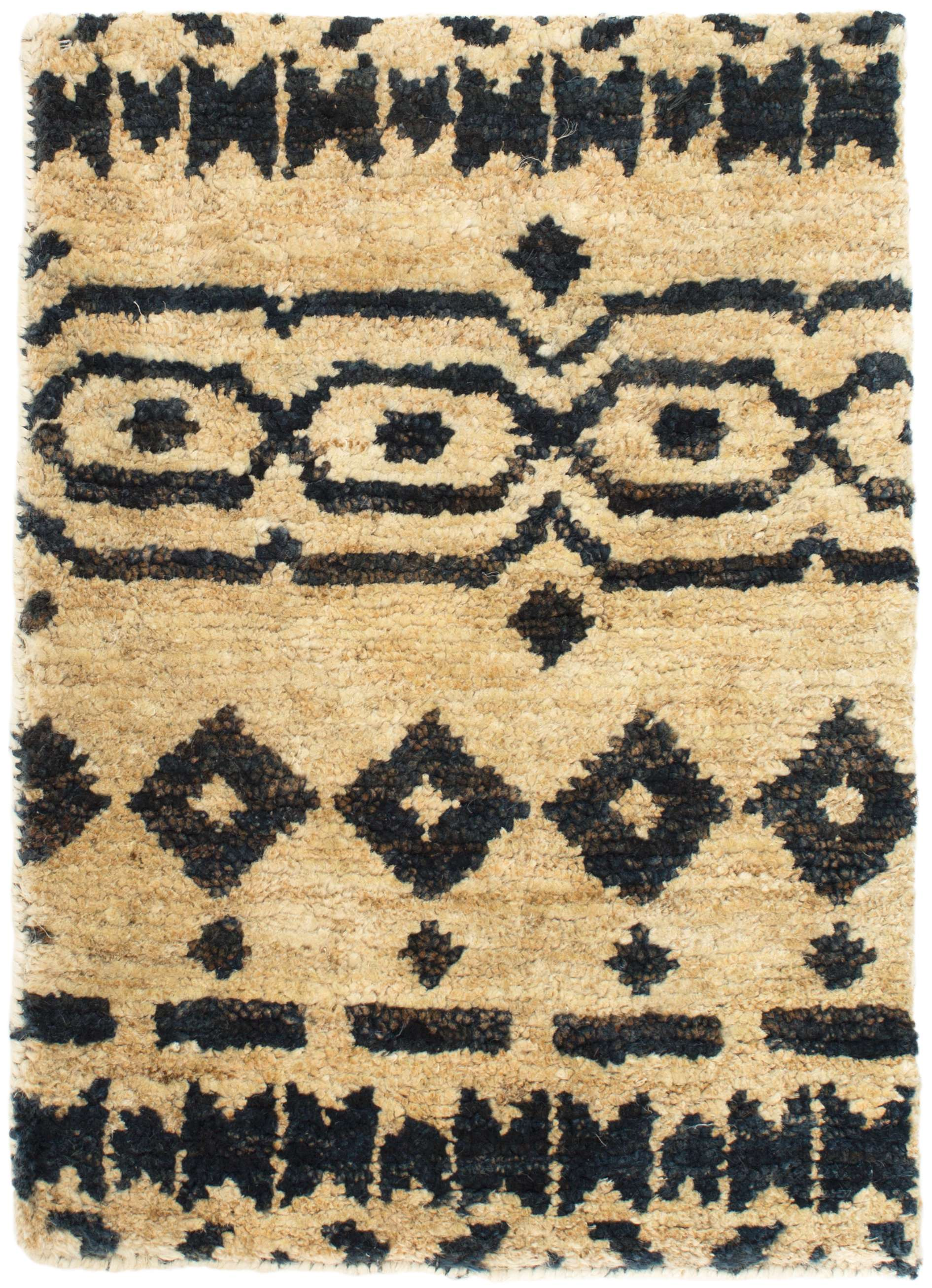 Jute Hand Knotted Rug