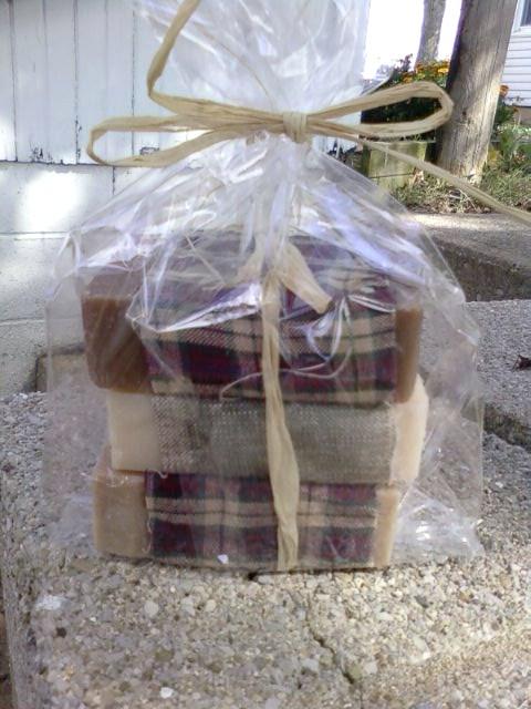 Patchouli, Cedarwood, Sandalwood Goat Milk Soap