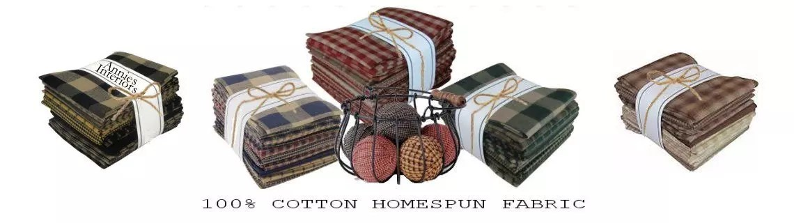 homespun fabric