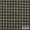 Navy Tea Dyed Reverse Check Plaid Homespun Fabric