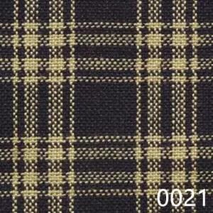 Navy Tea Dyed Catawba Check Plaid Homespun Fabric 0021