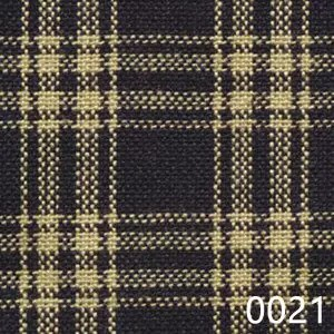 Navy Tea Dyed Catawba Check Plaid Homespun Fabric 0021