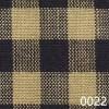 Navy Tea Dye Small Check Plaid Homespun Fabric 0022