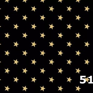 Black Star Homespun Fabric 5100
