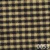 Black Tea Dyed Mini Check Plaid Homespun Fabric