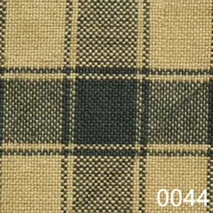 Green Tea Dyed Housecheck Plaid Homespun Fabric