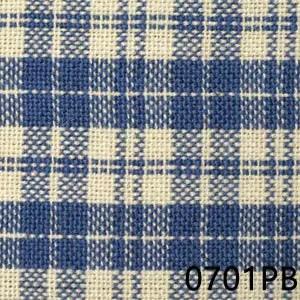 Prov Blue Cream Multipane Homespun Fabric