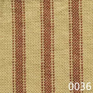 Red Tea Dyed Ticking Plaid Homespun Fabric