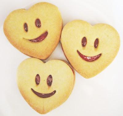 Jam Sandwich Biscuits