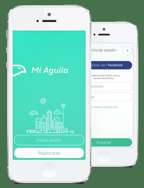Mi Águila: el Uber criollo