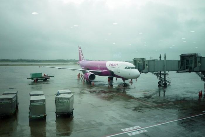 [日本] 樂桃航空Peach Aviation 台北-大阪初體驗