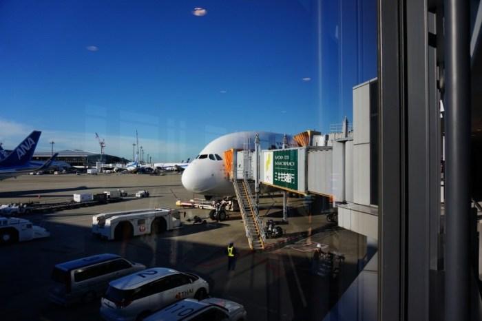 [2015 歐洲] 泰航 A380經濟艙  東京-曼谷-巴黎