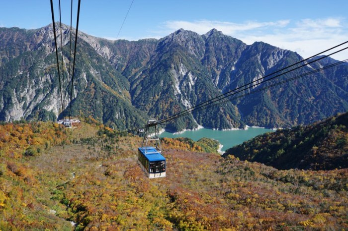 [富山] 立山黑部 紅葉 (三) 室堂-大觀峰-黑部平 纜車上的紅葉絕景