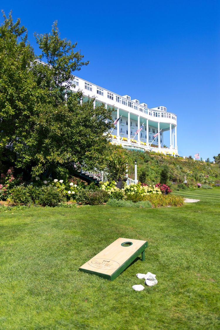 Grand Hotel on Mackinac Island, MI