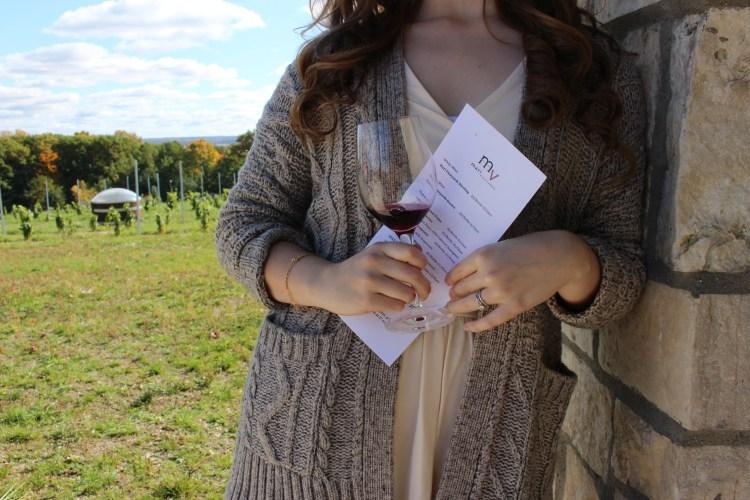 Wine Tasting at Mari's Vineyard in Traverse City, MI