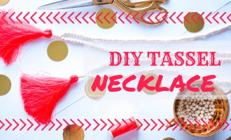DIY Tassel Necklace Tutorial!