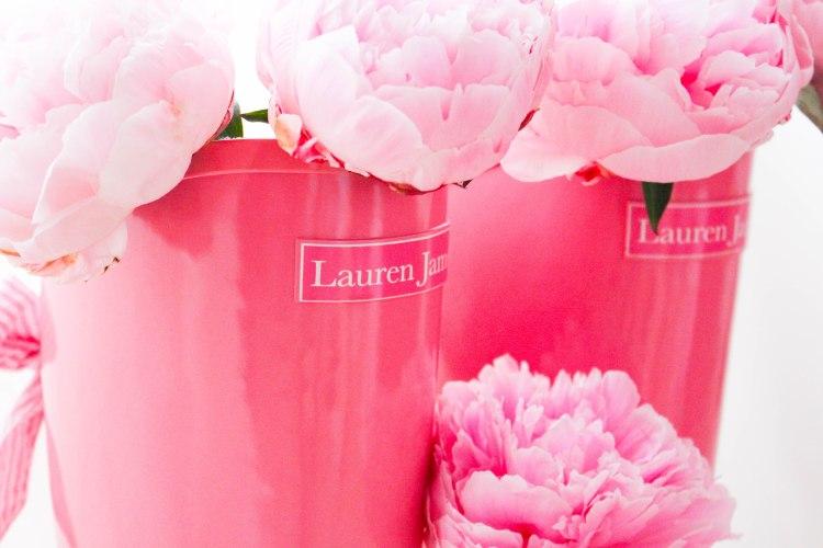Pink & Seersucker Rain Boots by Lauren James