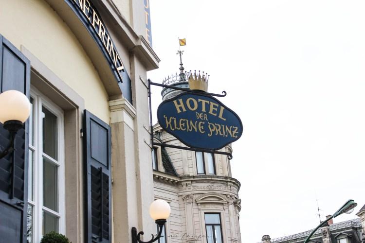 Luxury Hotels of the World: Hotel Der Kleine Prinz in Baden-Baden, Germany