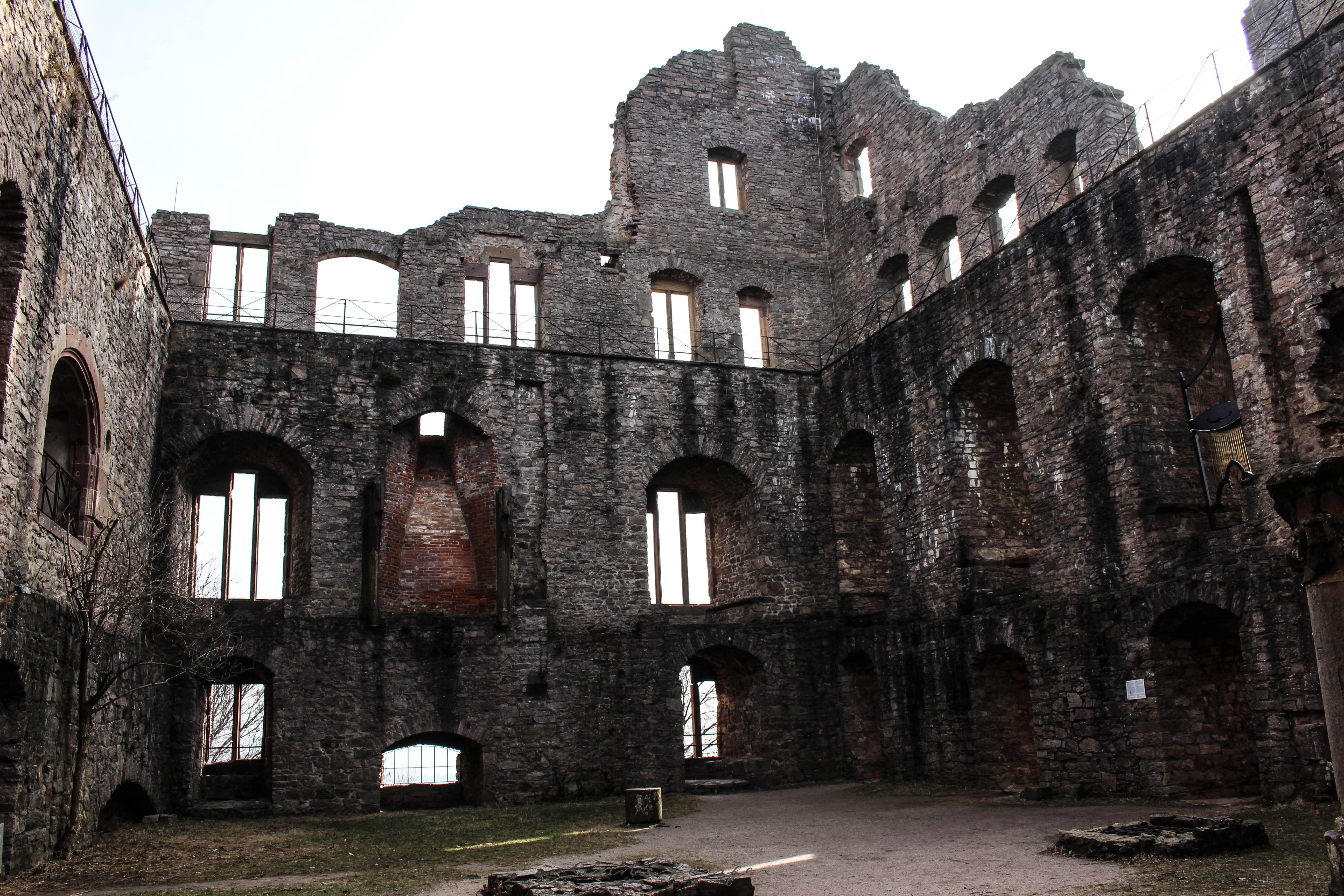 "Altes Schloss ""Old Castle"" in Black Forest Germany Built in 1102AD"
