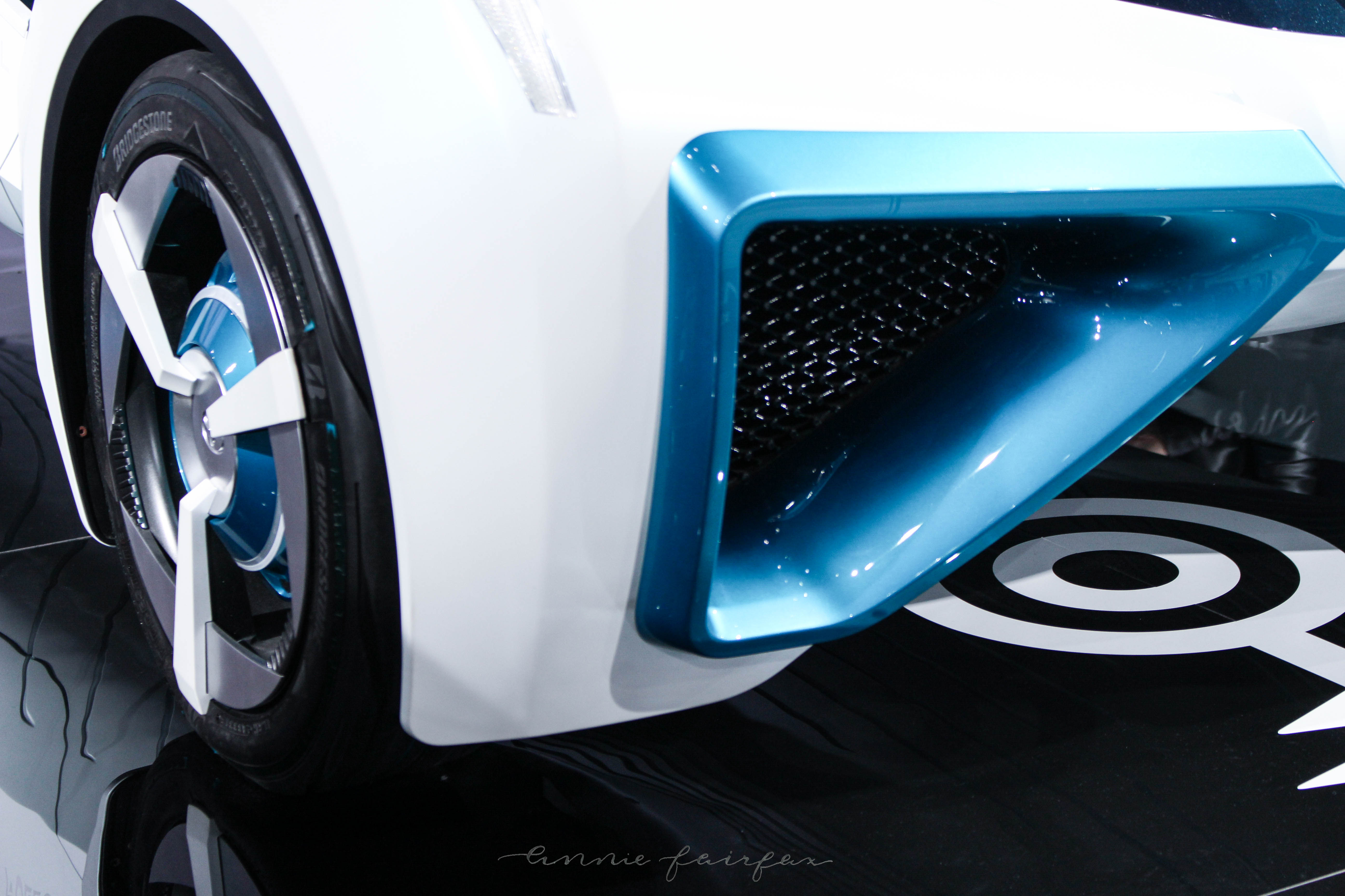 Toyota Concept Car Fuel Cell NAIAS Annie Fairfax https://anniewearsit.com/