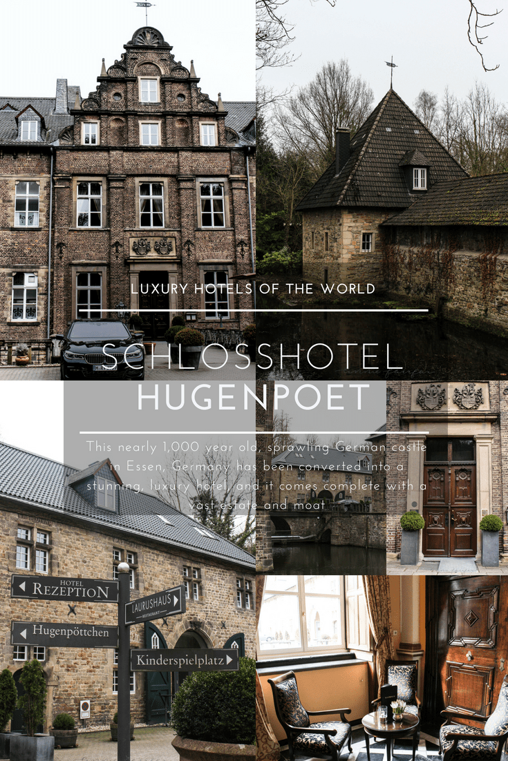 SchlossHotel HugenPoet Luxury Hotels of the World Essen Germany