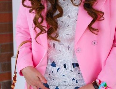Pink Coat & Cutouts