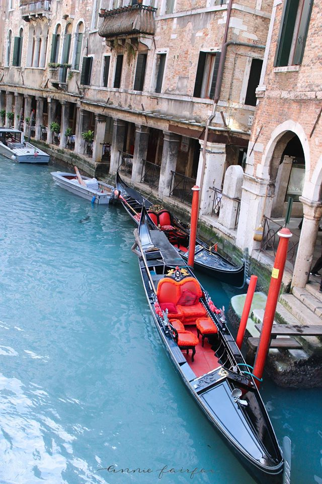 Red Gondolas The Best Things to Eat, See and Do in Venice Italy Luxury Travel Murano Murano by Annie Fairfax