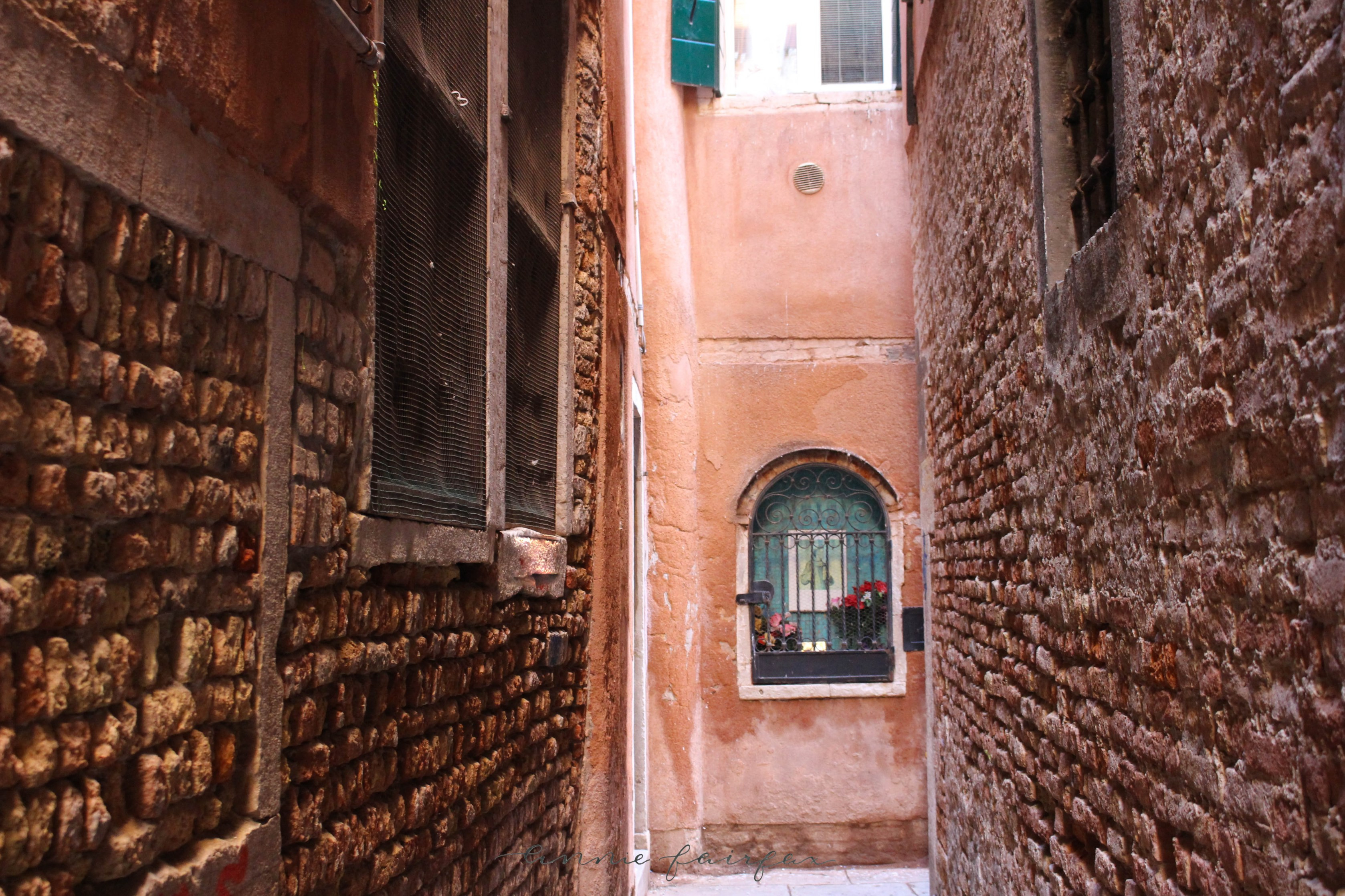 Venice Italy Windows Doors Alleys