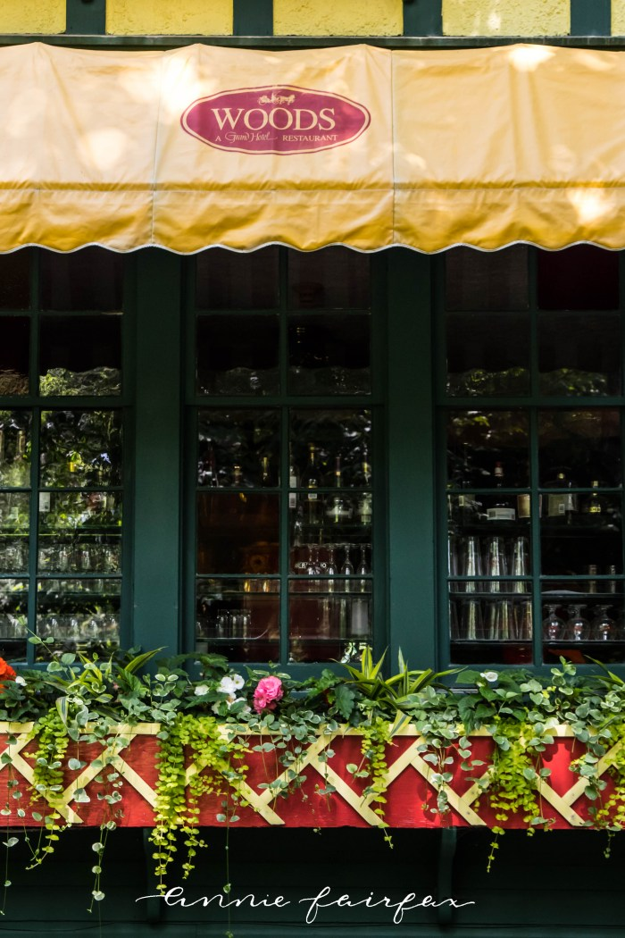 Luxury Restaurants of the World: Woods on Mackinac Island