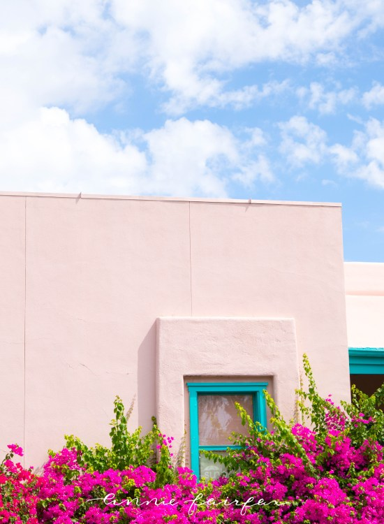 Visitor's Guide to Tucson, Arizona: what to See, Eat, & Do adobe Stucco house pink. house Tucson Arizona