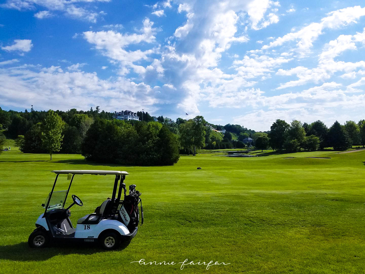 Golfing on the Jewel Golf Course Grand Hotel Mackinac Island Michigan Titleist Golf